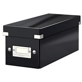 CD Ablagebox Click & Store 143x352x153mm schwarz Graukarton Leitz 6041-00-95 Produktbild