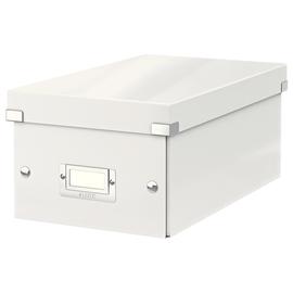 DVD-Ablagebox WOW Click & Store 147x206x352mm weiß Leitz 6042-00-01 Produktbild