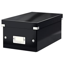 DVD-Ablagebox WOW Click & Store 147x206x352mm schwarz Leitz 6042-00-95 Produktbild