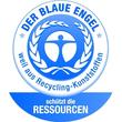 Briefkorb Karma für A4 243x57x335mm öko-blau Kunststoff HAN 10278-16 Produktbild Additional View 3 S