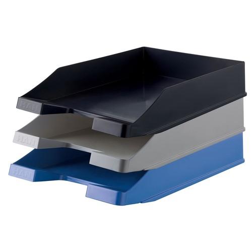 Briefkorb Karma für A4 243x57x335mm öko-blau Kunststoff HAN 10278-16 Produktbild Additional View 2 L