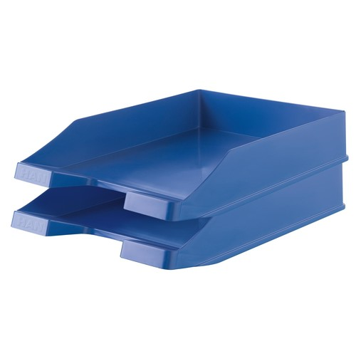 Briefkorb Karma für A4 243x57x335mm öko-blau Kunststoff HAN 10278-16 Produktbild Additional View 1 L
