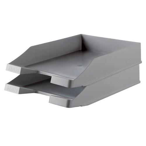 Briefkorb Karma für A4 243x57x335mm öko-grau Kunststoff HAN 10278-18 Produktbild Additional View 1 L