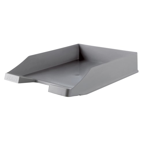 Briefkorb Karma für A4 243x57x335mm öko-grau Kunststoff HAN 10278-18 Produktbild