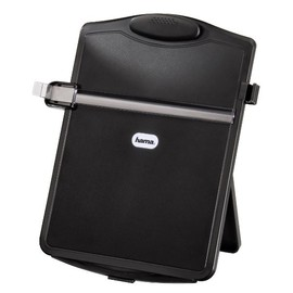 Konzepthalter Desktop schwarz Hama 00048888 Produktbild