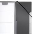 Ordnungsmappe mit 5 Fächer A4 dunkelblau PP Durable 2475-07 Produktbild Additional View 4 S