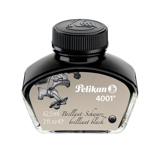 Tinte im Glas 62,5ml 4001 schwarz Pelikan 329144 (GL=62,5 MILLILITER) Produktbild Front View L