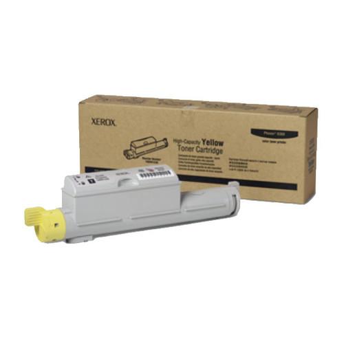 Toner für Phaser 6360 12000Seiten yellow Xerox 106R01220 Produktbild Front View L
