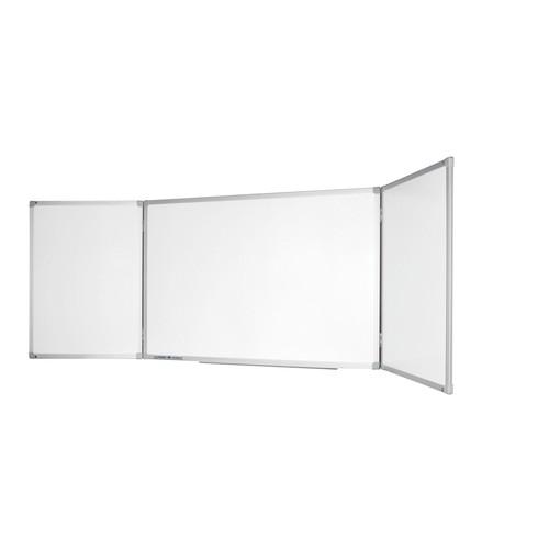 Klapptafel ECONOMY Plus 200/400x100cm weiß magnetisch Legamaster 7-100264 Produktbild