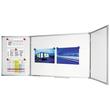 Klapptafel ECONOMY Plus 200/400x100cm weiß magnetisch Legamaster 7-100264 Produktbild Additional View 1 S