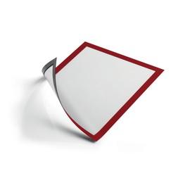 Magnetrahmen A4 transparent/rot magnetisch Durable 4869-03 (PACK=5 STÜCK) Produktbild