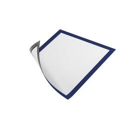 Magnetrahmen A4 transparent/dunkelblau magnetisch Durable 4869-07 (PACK=5 STÜCK) Produktbild