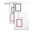 Magnetrahmen A4 transparent/orange magnetisch Durable 4869-09 (PACK=5 STÜCK) Produktbild Additional View 1 S