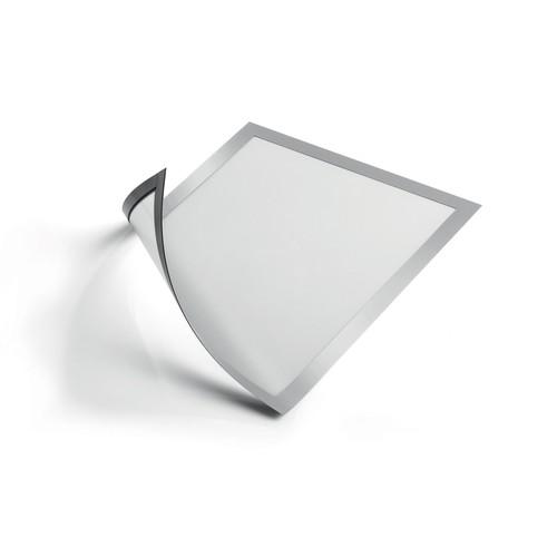 Magnetrahmen A4 transparent/silber magnetisch Durable 4869-23 (PACK=5 STÜCK) Produktbild