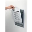 Türschild CLICK SIGN A4 210x297mm graphit kunststoff Durable 4867-37 Produktbild Additional View 2 S