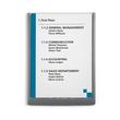 Türschild CLICK SIGN A4 210x297mm graphit kunststoff Durable 4867-37 Produktbild