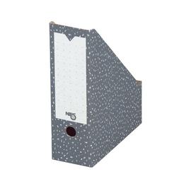 Archiv-Stehsammler 80 80x265x325mm anthrazit/weiß Karton Nips 152498124 Produktbild