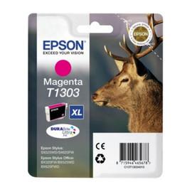 Tintenpatrone T1303 für Epson Stylus SX525WD/SX620FW 10,1ml XL magenta Epson T130340 Produktbild