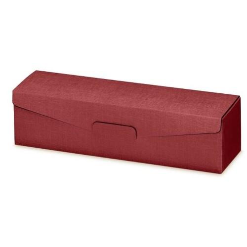Geschenkverpackung Seta bordeaux Für 1 Flasche Famulus 110302 Produktbild Front View L