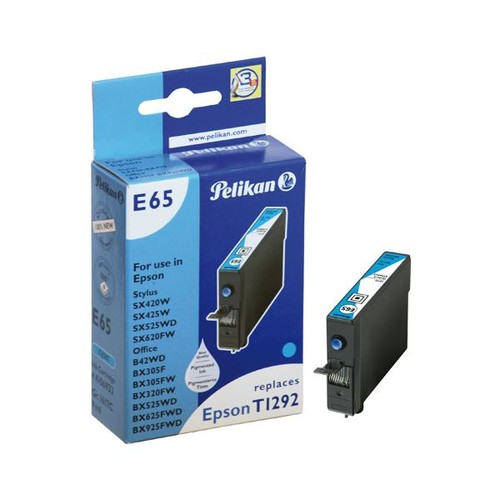 Tintenpatrone Gr. 1617C (T129240) für Stylus Office B42WD/SX525WD 9ml cyan Pelikan 4108616 Produktbild Front View L