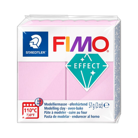 Modelliermasse FIMO Soft ofenhärtend 56g pastell rose Staedtler 8020-205 Produktbild