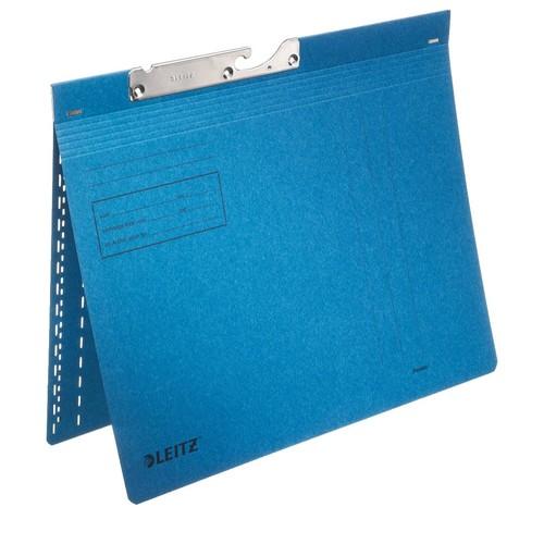 Pendelhefter kaufmännische Heftung 320g blau Manilakarton Leitz 2013-00-35 Produktbild Front View L