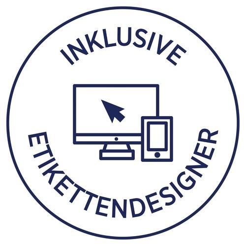 Etiketten Inkjet+Laser+Kopier 105x37mm auf A4 Bögen blau Zweckform 3453 (PACK=1600 STÜCK) Produktbild Additional View 4 L