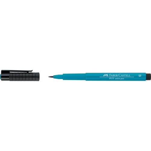 Tuschestift PITT ARTIST PEN 1,0mm breit kobalttürkis Faber Castell 167453 Produktbild Front View L
