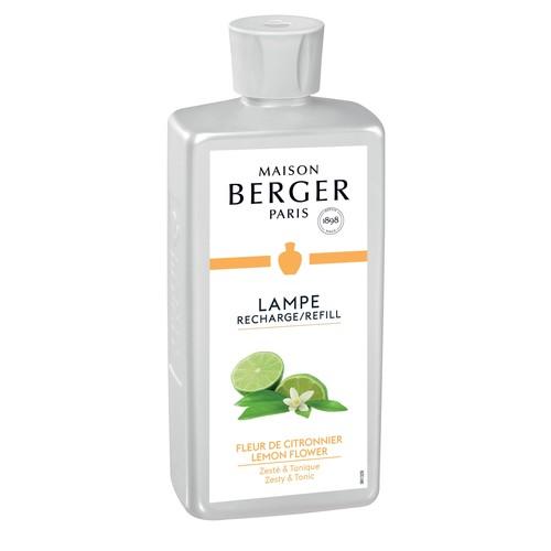 Raumduft Parfums Fleur de Citronnier / Lemon Flower 500ml Lampe Berger 115116 (FL=0,5 LITER) Produktbild Front View L