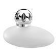 Duftlampe Galet Blanc 10cm 260ml weiß Glas Lampe Berger 4328 Produktbild