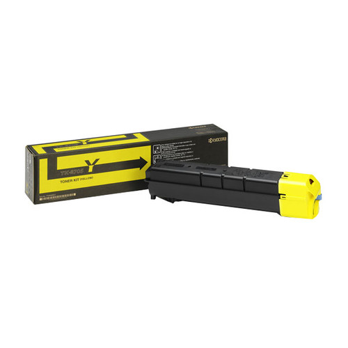 Toner TK-8705Y für TASKalfa 6550ci/ 6551ci/7550ci/7551ci 30000Seiten yellow Kyocera 1T02K9ANL0 Produktbild Front View L