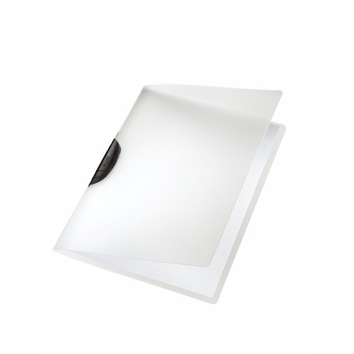 Klemmmappe ColorClip A4 bis 30Blatt schwarz PP Leitz 4175-00-95 Produktbild Front View L