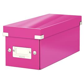CD Ablagebox Click & Store 143x352x153mm pink Graukarton Leitz 6041-00-23 Produktbild