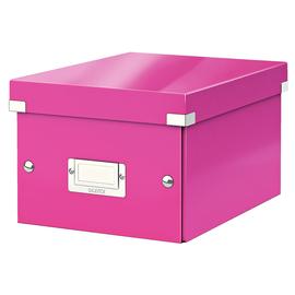 Archivbox WOW Click & Store 220x160x282mm pink metallic Leitz 6043-00-23 Produktbild