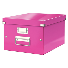 Archivbox WOW Click & Store 281x200x370mm pink metallic Leitz 6044-00-23 Produktbild