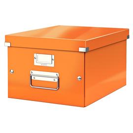 Archivbox WOW Click & Store 281x200x370mm orange metallic Leitz 6044-00-44 Produktbild