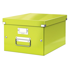Archivbox WOW Click & Store 281x200x370mm grün metallic Leitz 6044-00-64 Produktbild