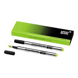 Dokumentenmarker-Minen Luminous Green Montblanc 105169 (PACK=2 STÜCK) Produktbild