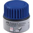 Flipchartmarker-Nachfülltank Grip Refill blau Faber Castell 153851 (ST=30 MILLILITER) Produktbild