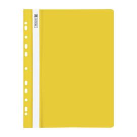 Schnellhefter A4 gelocht gelb Plastik Brunnen 10-2015210 Produktbild