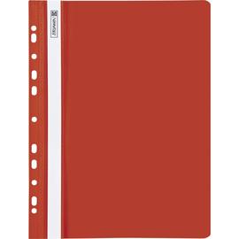 Schnellhefter A4 gelocht rot Plastik Brunnen 10-2015220 Produktbild
