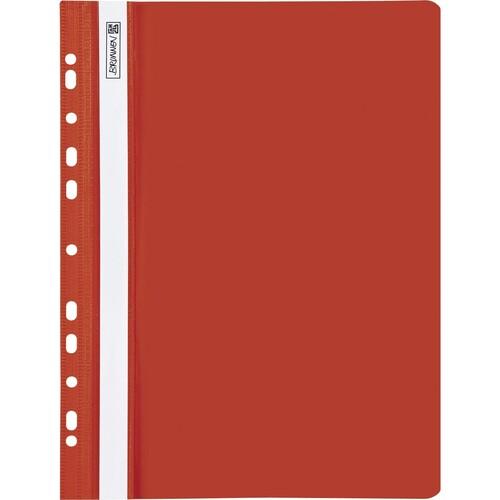 Schnellhefter A4 gelocht rot Plastik Brunnen 10-2015220 Produktbild Front View L