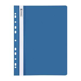 Schnellhefter A4 gelocht blau Plastik Brunnen 10-2015230 Produktbild