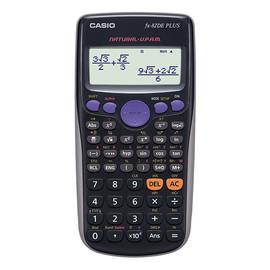 Taschenrechner 2-zeiliges Display 252 Funktionen 13,8x80x162mm Batteriebetrieb Casio FX-82 DE Plus Produktbild