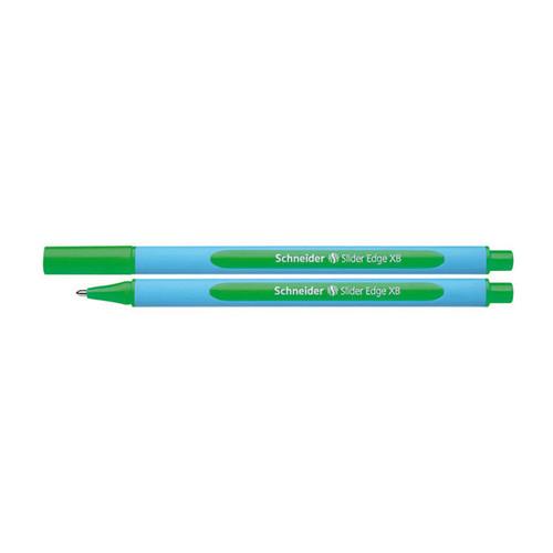 Kugelschreiber Slider Edge XB 1,4mm extrabreit grün Schneider 152204 Produktbild Front View L
