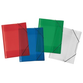 Sammelmappe Crystal mit Gummizug A3 farbig sortiert Veloflex 4432200 Produktbild