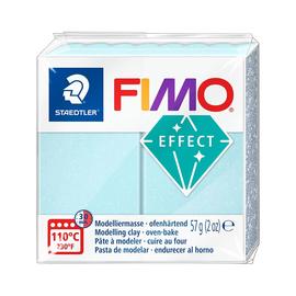 Modelliermasse FIMO Effect ofenhärtend 56g eiskristalblau Staedtler 8020-306 Produktbild