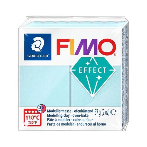 Modelliermasse FIMO Effect ofenhärtend 56g eiskristalblau Staedtler 8020-306 Produktbild Front View L