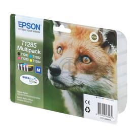 Tintenpatrone T1285 für Epson S22/SX125/420W/BX305F Multipack Epson C13T12854010 (ST=4 STÜCK) Produktbild