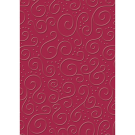 Bastelkarton Milano geprägt 50x70cm 220g rubinrot Heyda 20-4772262 Produktbild